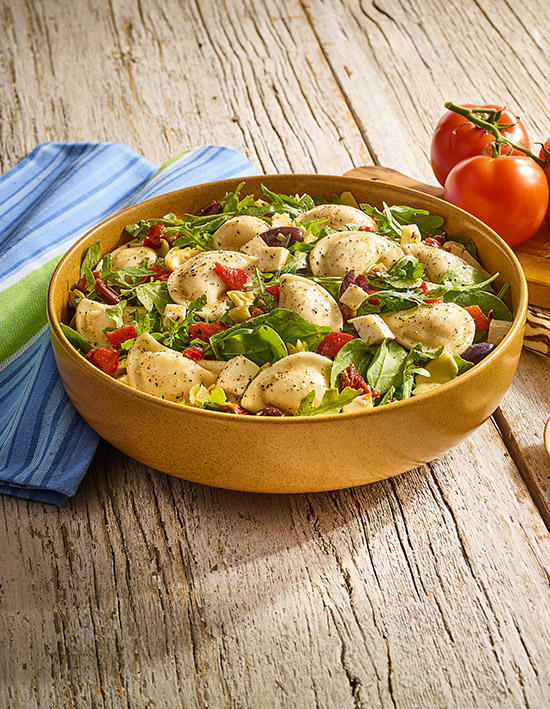 Tuscan Mini Pierogy Salad
