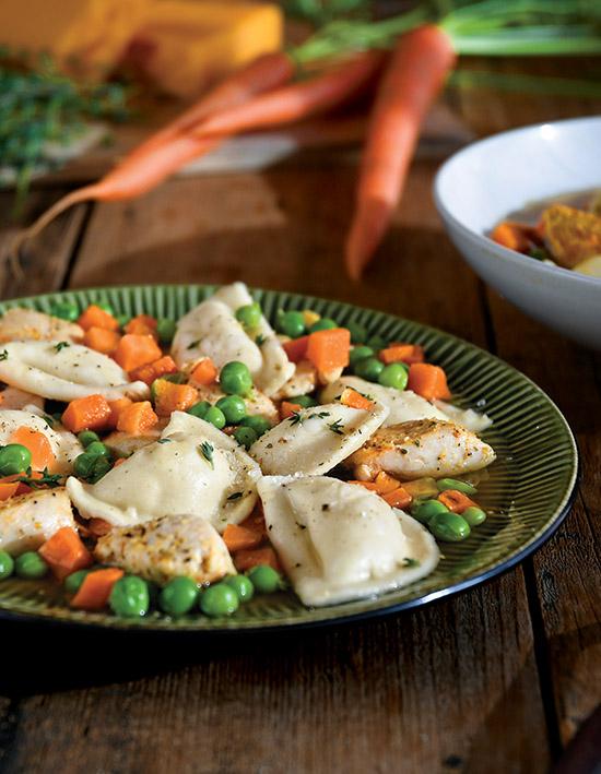 Mini Pierogy Chicken & Dumplings