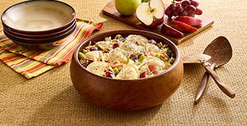 Waldorf Mini Pierogy Salad