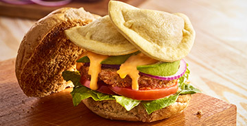 Pierogy Burger