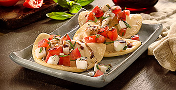 Garden Fresh Pierogy Bruschetta