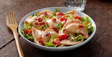 BLT Pierogy Salad